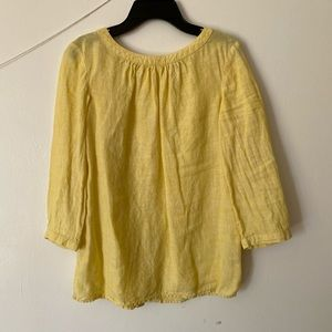 Boden yellow lined top